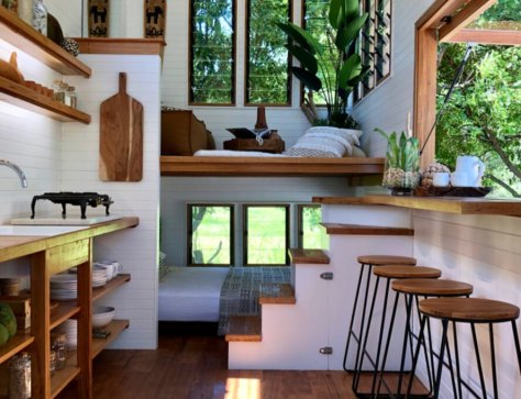 Little Byron Tiny House Interior