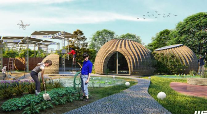 "Future Of Homebuilding: First 3D Printed Homes Of ""Locally Sourced Clay"" In Italy By Mario Cucinella Architects And WASP"