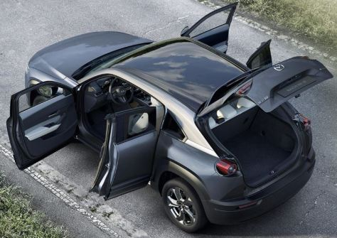 Mazda MX-30 Electric Car doors.JPG