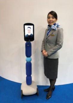 NewMe Robot ANA
