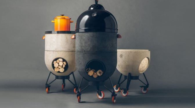 "Innovative Homeware: The Noori ""Rocket Stove"" BBQ Fuses ""Design & Ecology"""