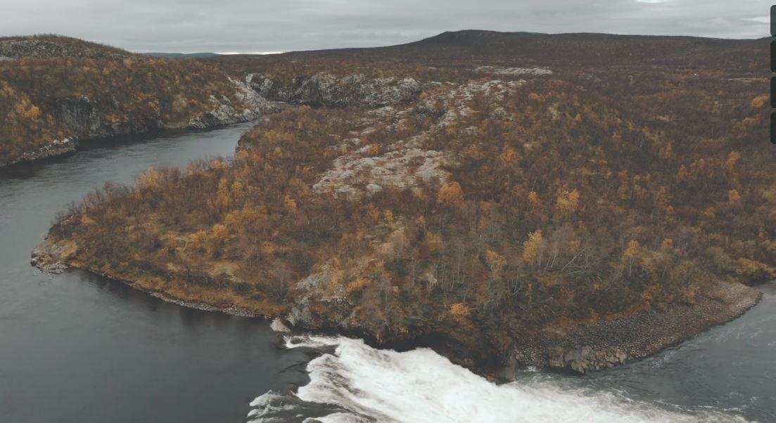 Pikefossen Nieidagorži Travel Video by Timo Oksanen 2019