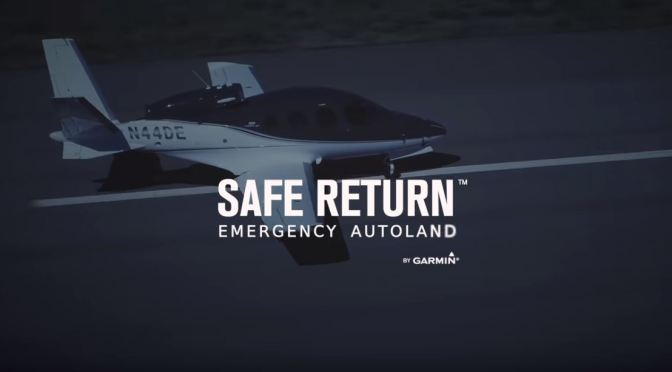 "Future Of Avation: ""Safe Return"" Emergency Autolanding In A Cirrus G2 Vision Jet (Video)"