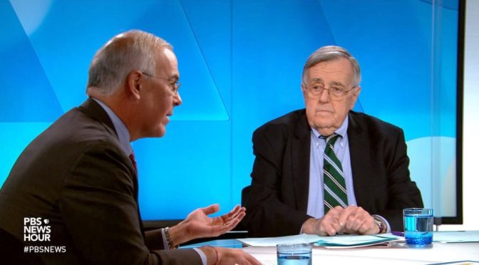 Top Political Podcasts: Mark Shields And David Brooks Discuss Latest In Washington (PBS)