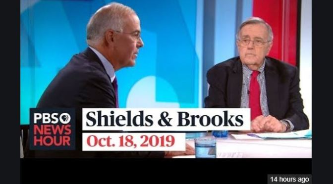 Top Podcasts: Mark Shields And David Brooks On Latest In Washington