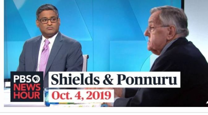 Top Politics Podcasts: Mark Shields And Ramesh Ponnuru Discuss Latest News In Washington (PBS)