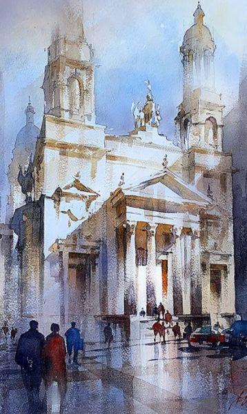 Thomas W Schaller Fine Art in Watercolor
