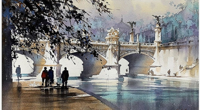 Artist Profiles: Watercolor Painter Thomas W. Schaller Interviewed By The Met