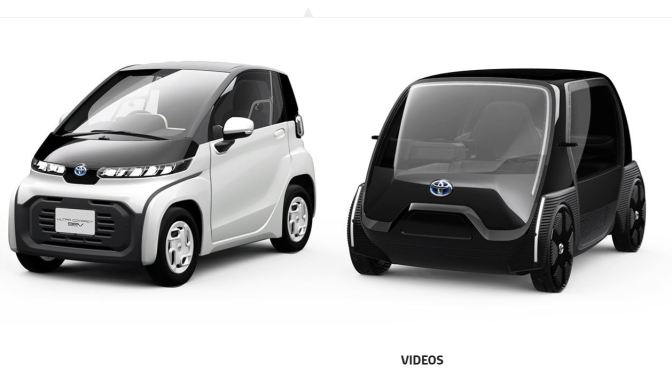 "Future Mobility: Toyota Unveils Production-Ready Ultra-Compact BEV To ""Support Aging Society"""