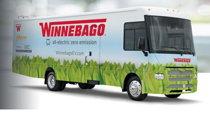 Future Of Recreation: Winnebago's Latest All-Electric, Zero-Emission RV