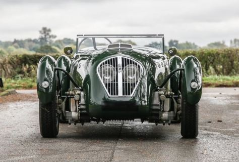 1949 Healey Silverstone Classic Driver