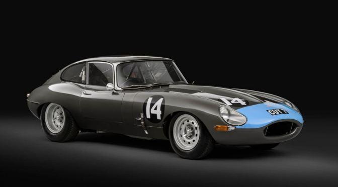 "Nostalgia: ""1961 Jaguar E-Type SI 'CUT-7′"" Champion Race Car (Classic Driver)"