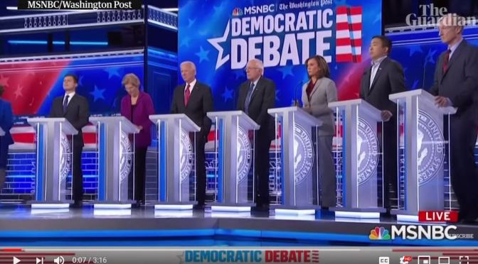 Political News: 2020 Democratic Debate Highlights (Video)