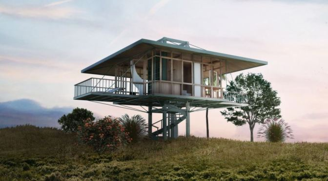 "Future Of Homebuilding: ""Stilt Studios"" By Architect Alexis Dornier Are ""Prefab And Movable"""