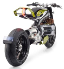 BST-Hypertek Electric Motorcycle
