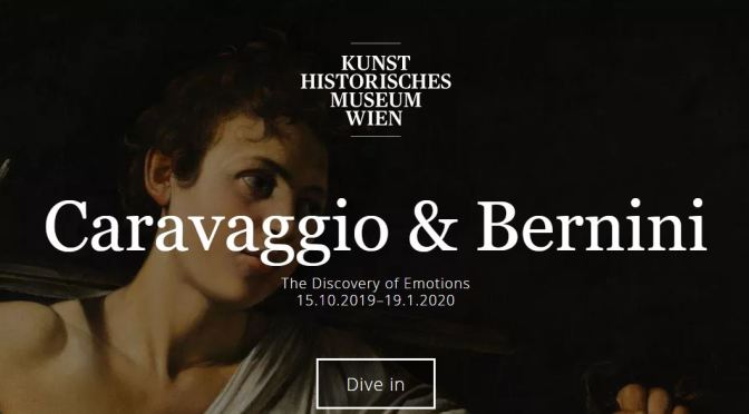 "Top Museum Exhibitions: ""Caravaggio & Bernini"" At The Kunst Historisches, Vienna (Thru Jan 19, 2020)"