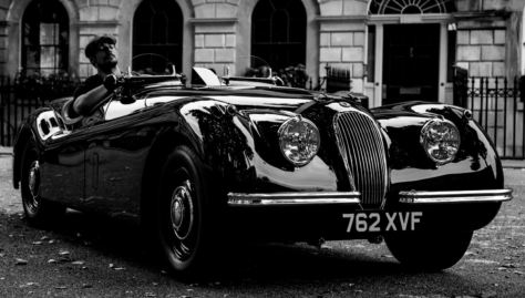 Classic Cars David Gandy Jaguar XK120
