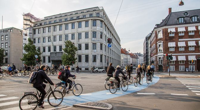 "Trends In Healthy Living: Copenhagen, Denmark Is The ""Global Exemplar Of Bicycle Culture"""