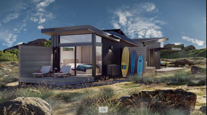 "Future Of Homebuilding: Prefab ""Sunset BUD LivingHome"" By Douglas W. Burdge Architects"