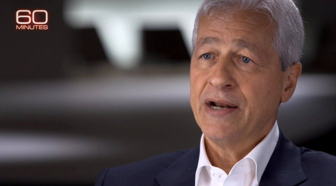 Top Podcast Interviews: JPMorgan Chase CEO Jamie Dimon On Elizabeth Warren, Income And Economics (60 Minutes)