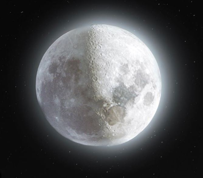 Eric Morgunov 52 Megapixel Photo of the Moon Using 500 Images