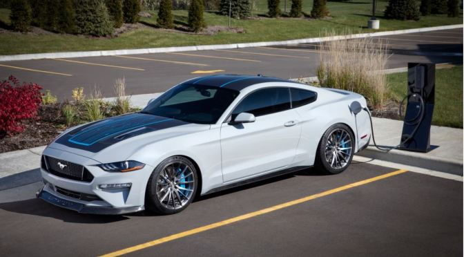 "Automobile Trends: Ford Unveils ""Mustang Lithium"" High-Performance EV"