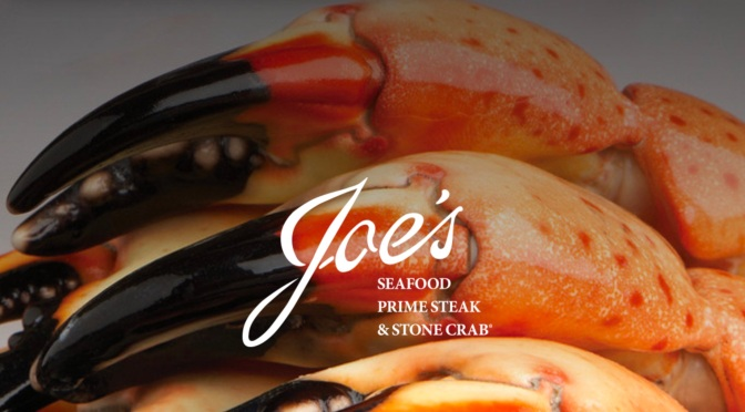 "Top Restaurants: ""Joe's Stone Crab"" In Miami Is #1 Independent In Sales"
