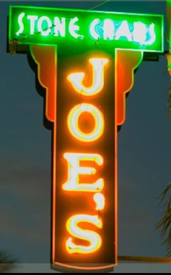 Joe's Stone Crab Miami