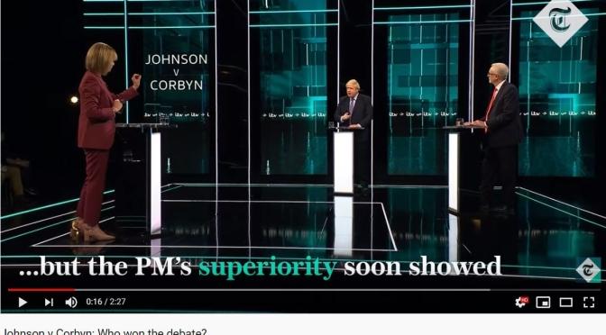 "International News: Boris Johnson And Jeremy Corbin In ""Testy"" Debate Over Brexit (Video)"