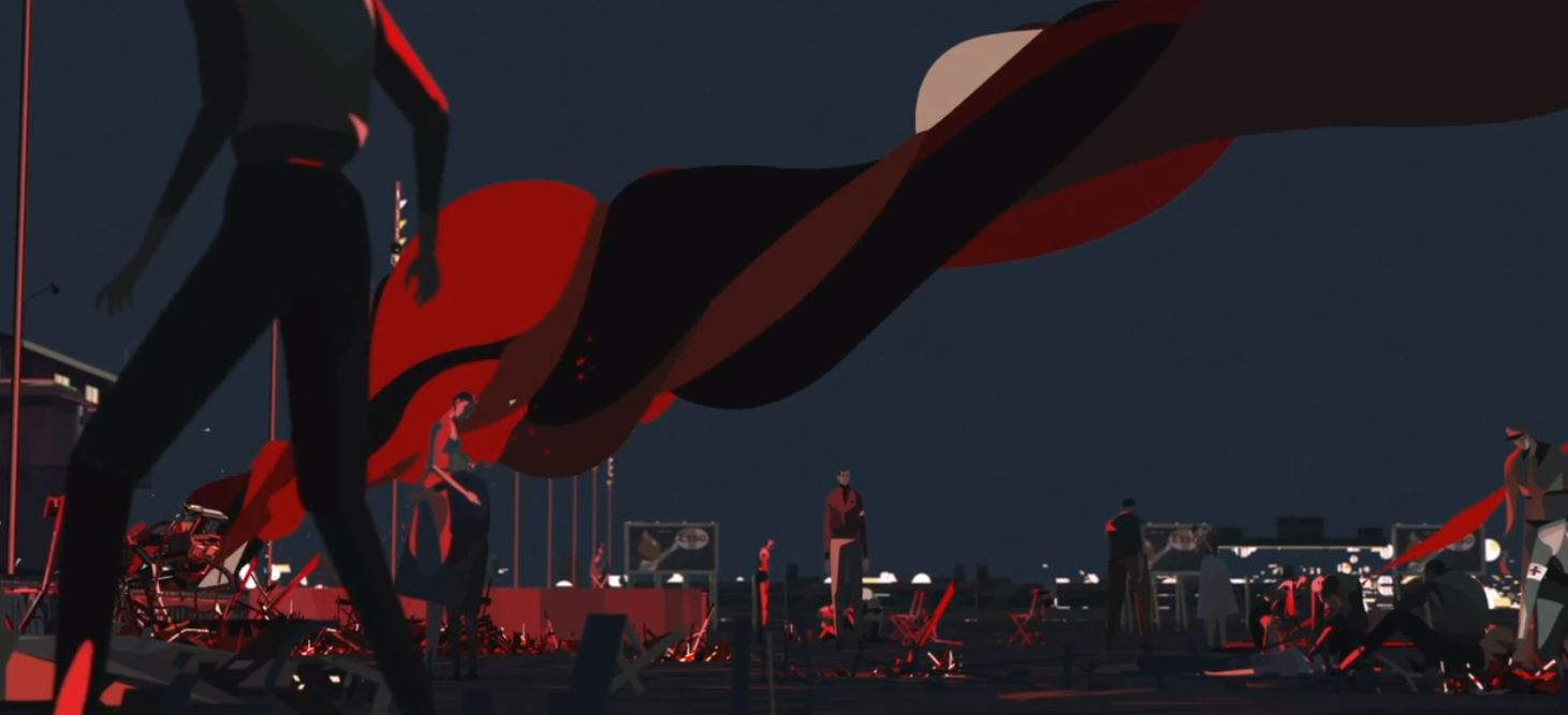 Le Mans 1955 Animated Short Film by Quentin Baillieux 2019