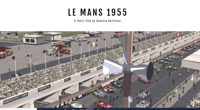 "Top Animated Films: ""Le Mans 1955"" Directed By Quentin Baillieux"