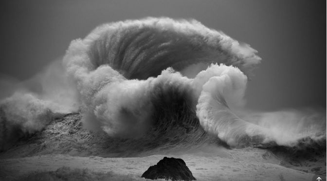 "Top Photographers: Luke Shad Bolt's  ""Roiling Majesty"" Of Ocean Waves"