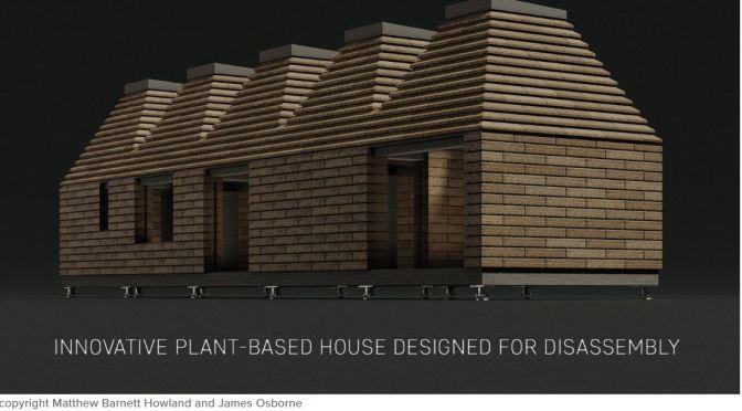 "Future Of Homebuilding: ""Cork House"" By Matthew Barnett Howland (2019)"