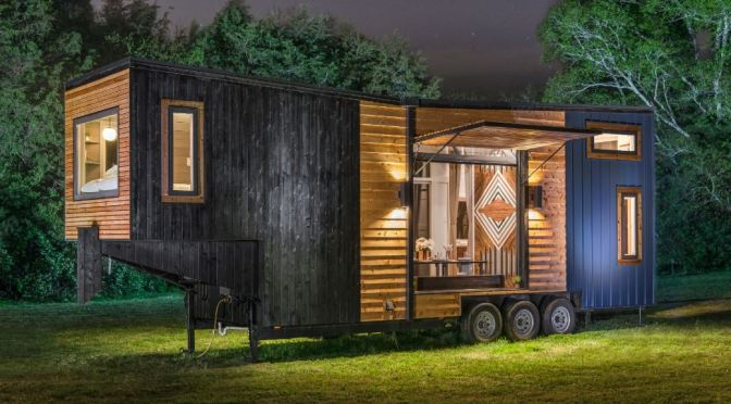 "Future Of Housing: The ""Escher"" From New Frontier Tiny Homes"