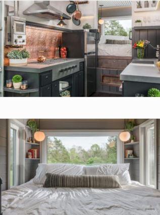New Frontier Tiny Homes Interior Escher