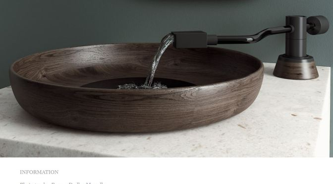 "Modern Design: A ""Vinyl Turntable Washbasin"" By Pasque D. Mawalla"