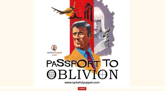 "New Spy Novel Audio: ""Passport To Oblivion"" Starring George Lazenby"