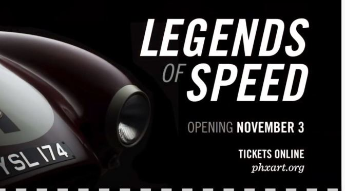 "Top Automobile Exhibits: ""Legends Of Speed"" At The Phoenix Art Museum (November 3 – Mar 15, 2020)"