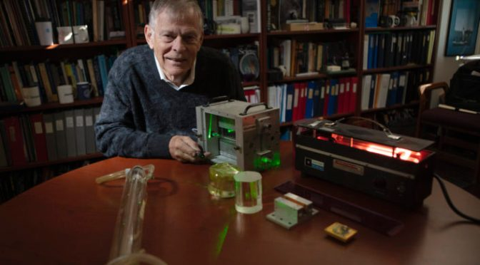 """Profiles: Stanford Physicist Robert Byer, 77, Helped Develop """"Most Stable Laser In The World"""""""