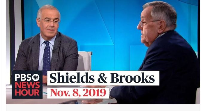 Top Political Podcasts: Mark Shields And David Brooks On The Latest In Washington (PBS)