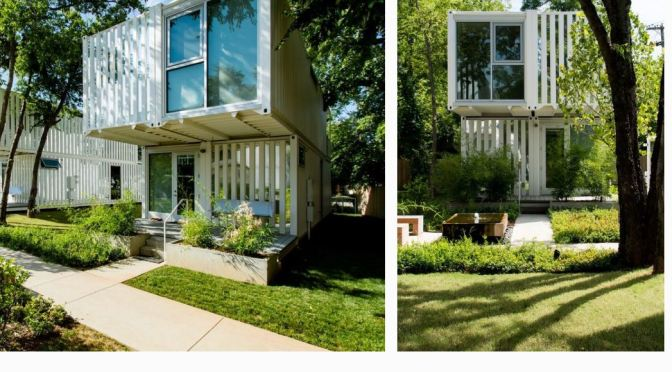 """Homebuilding Trends: """"Squirrel Park"""" Homes In Oklahoma Built From Used Shipping Containers"""