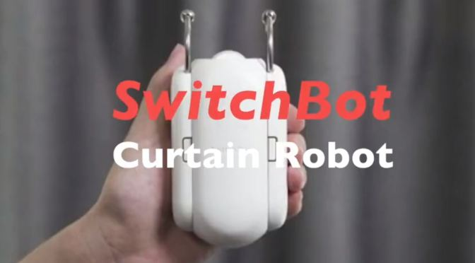 "Household Innovations: ""SwitchBot"" Curtain Robot Wirelessly Motorizes Your Drapes"
