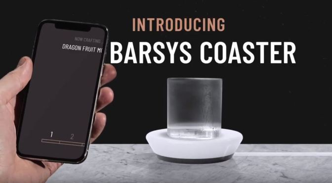 "Innovations In Cocktails: ""Barsys Coaster"" Weighs Ingredients, Guides Mixing With AI Smart App"