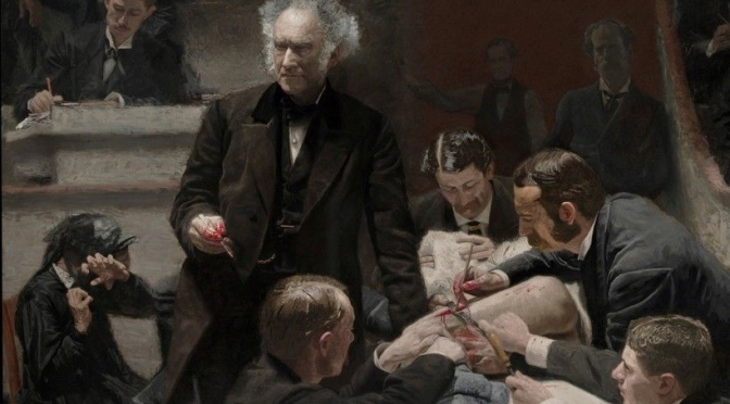 """American Painters: """"The Gross Clinic"""" (1875) By Thomas Eakins Was """"Renaissance-Era"""" Artistry"""