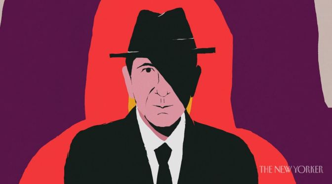 "Animated Visual Essay: Songwriter ""Leonard Cohen"" Interview In Video By Joe Donaldson (2019)"