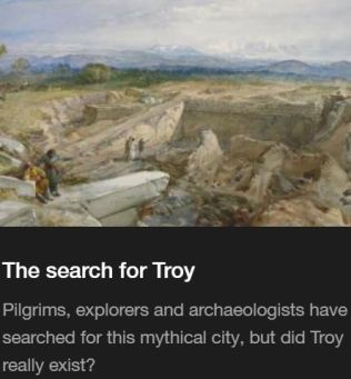 Troy Myth and Reality British Museum Exhibit