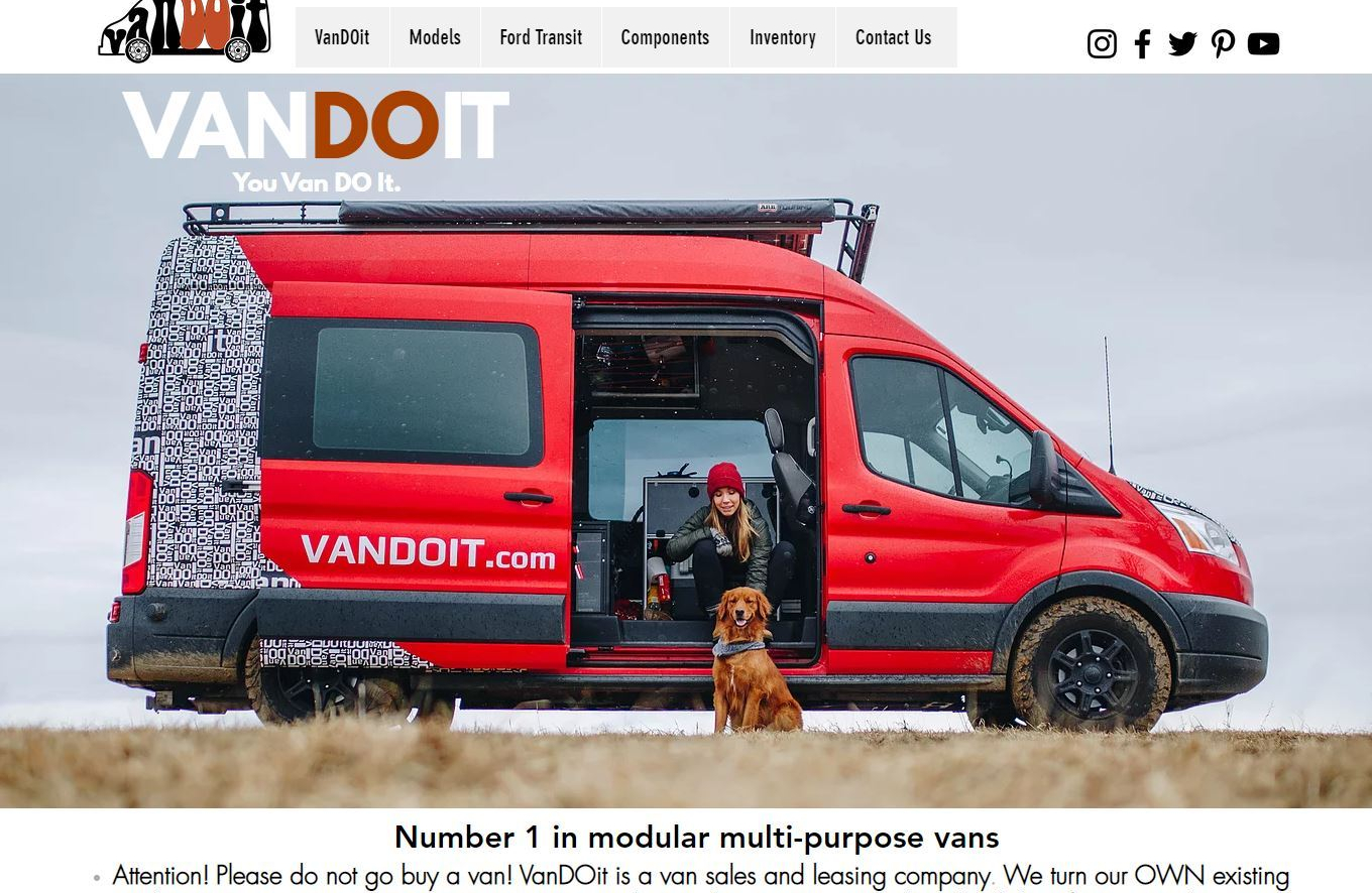 New Camper Vans 2020 Vandoit Liv Built Into All Wheel Drive Ford Transit Boomers Daily