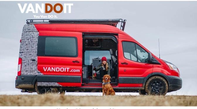 "New Camper Vans: 2020 ""VanDOit LIV"" Built Into All-Wheel Drive Ford Transit"