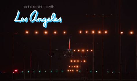 Worldway The City Of LAX Timelapse Video by Chris Pritchard 2019