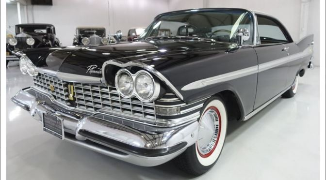 """American Cars: """"1959 Plymouth Sport Fury Coupe"""" (Classic Driver)"""